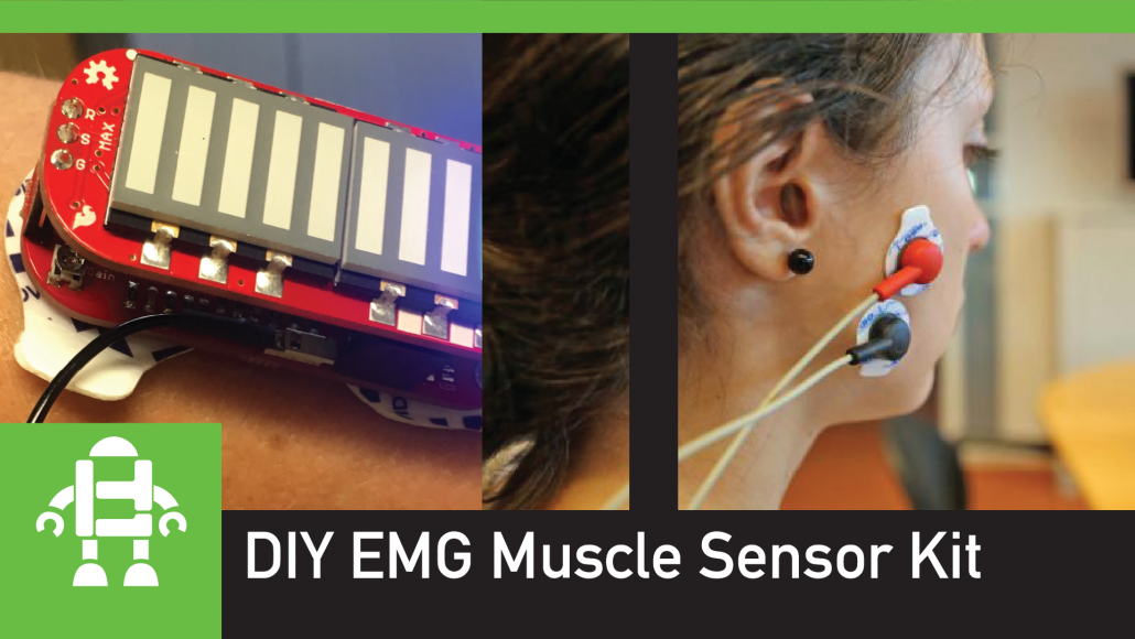 DIY EMG Myoware Muscle Sensor Kit