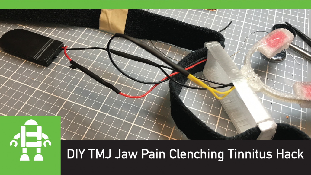 DIY TMJ Jaw Pain Clenching Tinnitus Hack