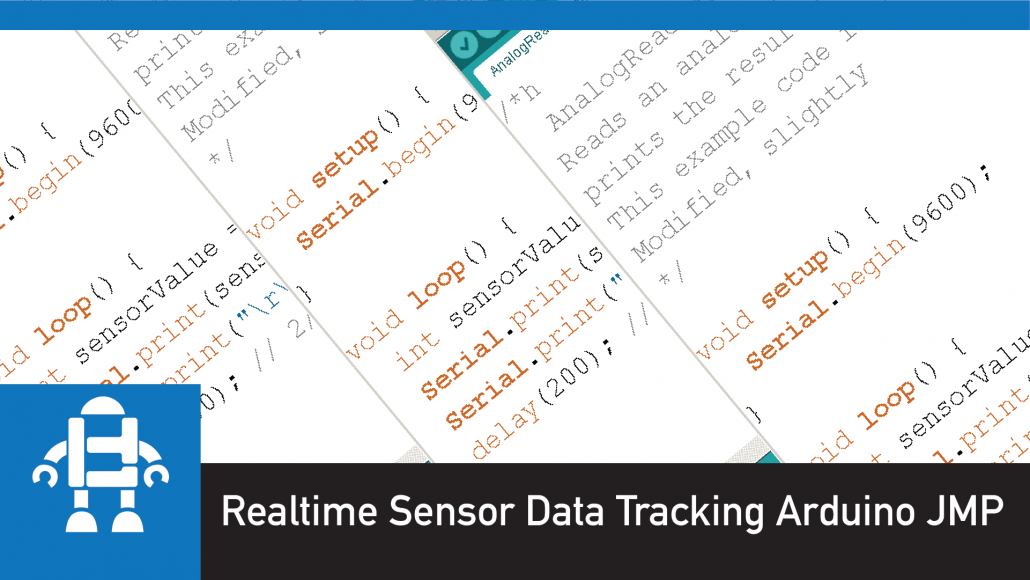 Realtime Sensor Data Tracking Arduino JMP